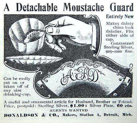 A Detachable Moustache Guard